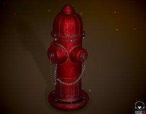 Fire Hydrant 4K PBR 3D model