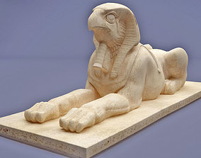 horus sphinx Statue 3D printable model