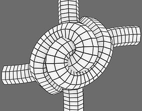 3D asset realtime yin and yang knot