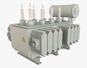 3D model Electrical Transformer 1