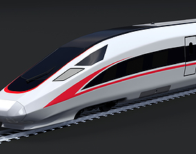 3D model Fuxing Hao high-speed train