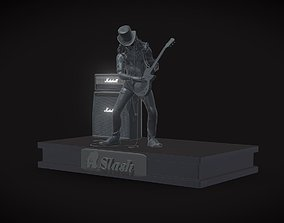 Slash - Saul Hudson 3D print model