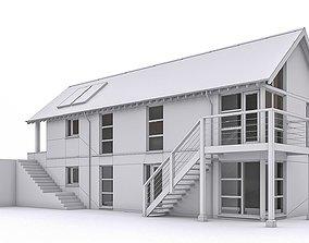 3D asset Townhouse 07
