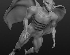 3D printable model KARASU TENGU naked Japanese monsters 2