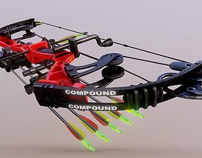 3D asset Compound Bow