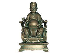God of wealth 3D printable model 3D model