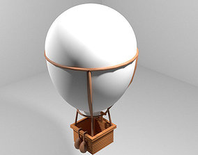 Hot Air Balloon - Classic 3D