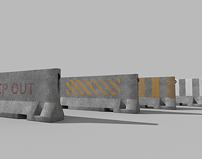 Barrier Concrete 3D model