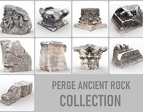 Perge Ancient Rock Pack 3D model