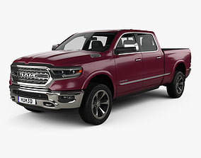 3D model Dodge Ram 1500 Crew Cab 6-foot 4-inch Box Limited