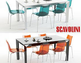 Scavolini Tai and Flash Blue Orange 3D model