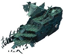 3D Game Gulf Shipwreck - Wreck 5