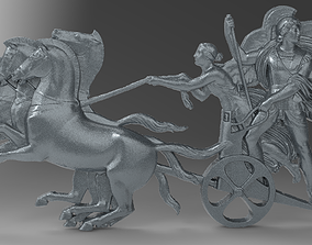 3D printable model chariot