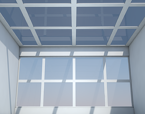 Sci Fi Room exterior 3D model VR / AR ready