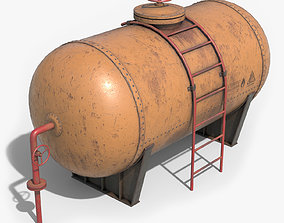 3D model industrial Tank Container
