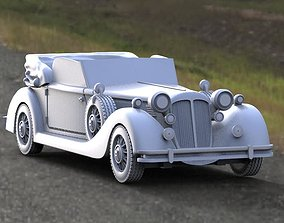 Horch 853A 3D printable model