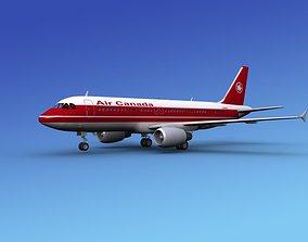 Airbus A320 Air Canada 1 3D