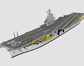 3D model USS CVN 34 Oriskany