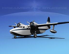 3D Grumman G-73 Mallard V11