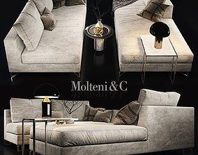 Sofa molteni c LARGE 2 3D model