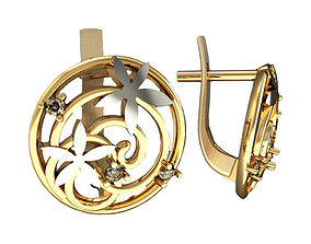 3D print model Earrings 991
