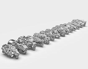 End pieces for bracelets 5mm 3D printable model