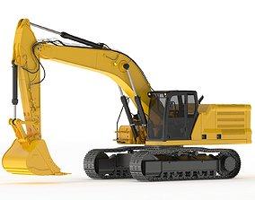 3D Crawler Excavator Generic