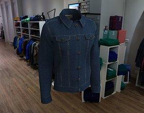 Jeans jacket 3D model