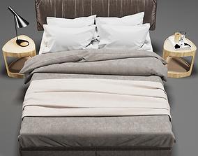 3D BED BROWN