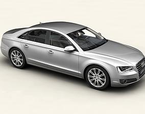3D model Audi A8 2011