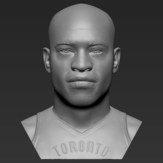 Vince Carter bust for 3D printing