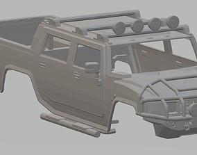 H2 6x6 Printable Body Truck