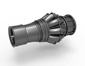 3D print model Jet engine key fob