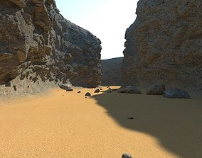 valley 3D model Canyon