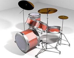 3D Drum Set - Modern