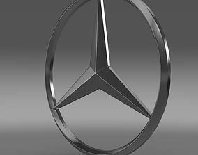 Mercedes Logo 3D model