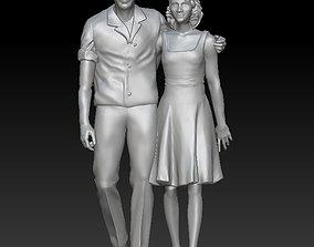 man and woman 3D printable model