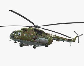 3D asset Mi-17 Slovak Air Force
