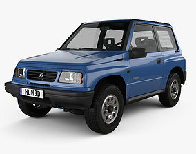 3D model Suzuki Vitara 3-door 1989