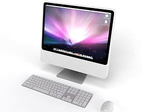 Apple I Mac Computer 3D
