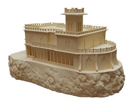 3d model of Castillo Forga Castle For 3d Printing