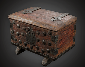 3D model Small Chest - MVL - PBR Game Ready