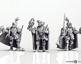 Feudal Guard Female Higher Officers 3D print model