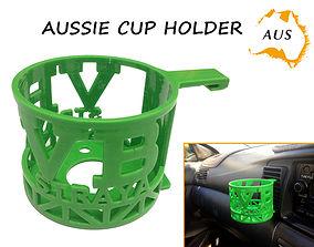 3D printable model Aussie Car Cup Holder
