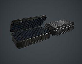 Military Weapon Case PBR Game Ready 3D model
