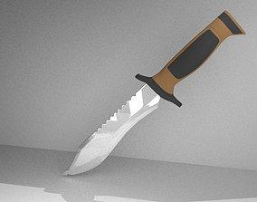 3D model Elite Forces military knife