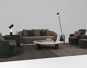 free minotti collection Jacques 3D model