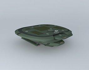 3D XD Cerber Space destroyer class