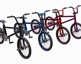 3D asset BMX Bikes
