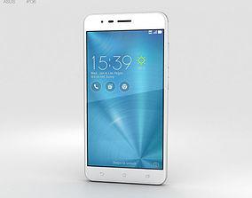 3D model Asus Zenfone 3 Zoom Glacier Silver